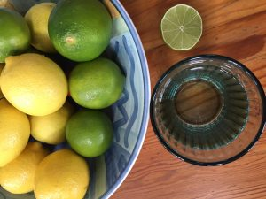lemon juice and nasal polyps